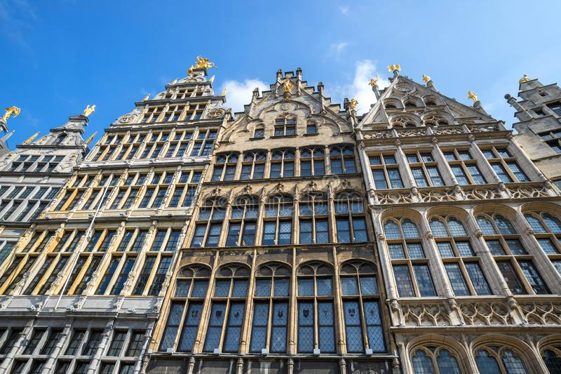 Stary grodzki Antwerp Belgium obraz royalty free