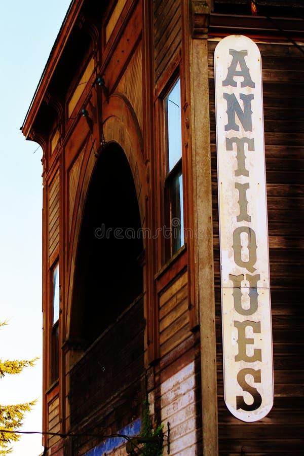 Stary grodzki antyka znak zdjęcia stock