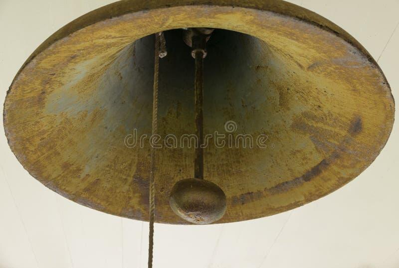 Stary grodzki dzwon widział niektóre używa zdjęcie stock