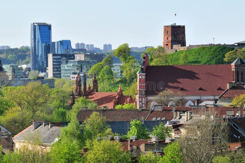stary grodzki Vilnius obraz stock