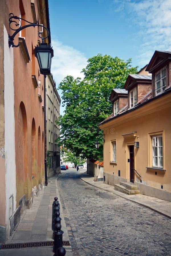 stary grodzki Warsaw zdjęcie royalty free