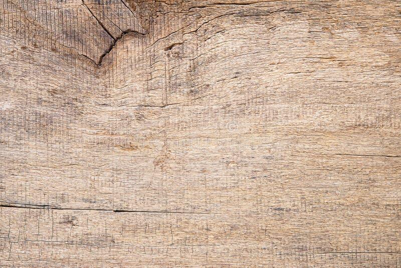 Stary grunge brązu rocznik pękał drewnianego tekstury tło obrazy royalty free
