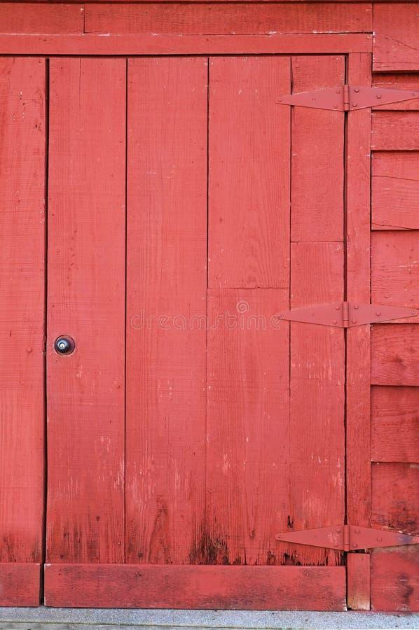 stary grungee stodole drzwi fotografia royalty free