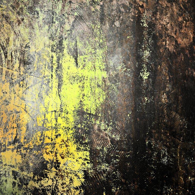 Stary grungy betonowej ściany tło zdjęcie royalty free