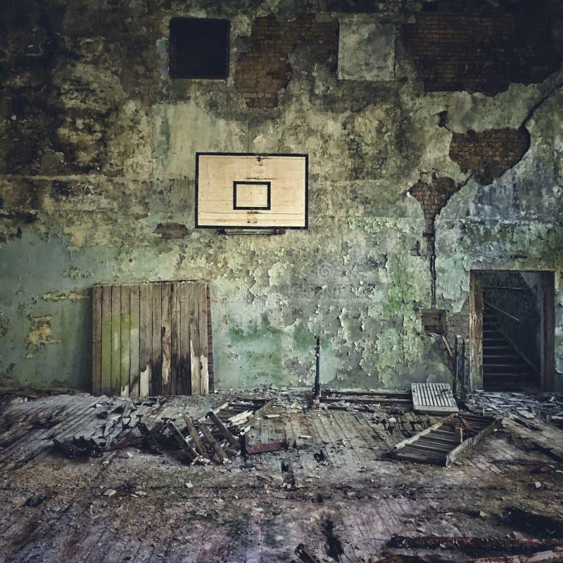 Stary gym obraz royalty free
