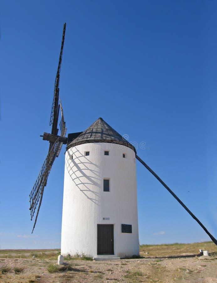 stary hiszpański mill wiatr fotografia royalty free
