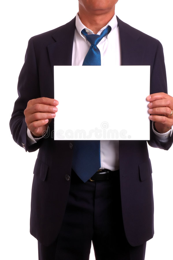 stary holdingh znak zdjęcia stock