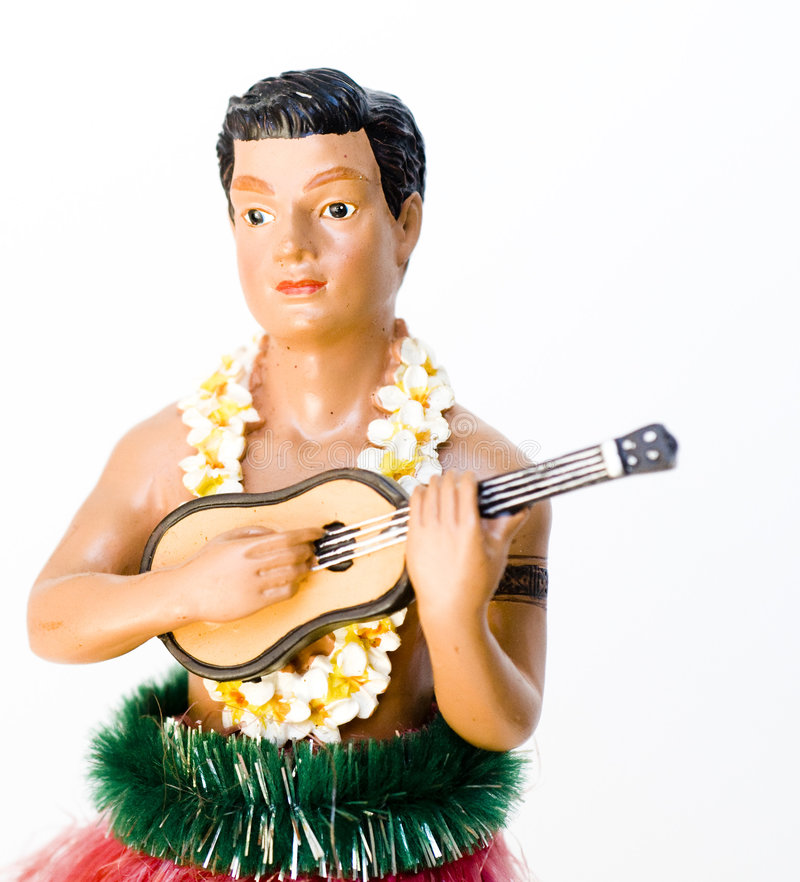 stary hula obraz royalty free