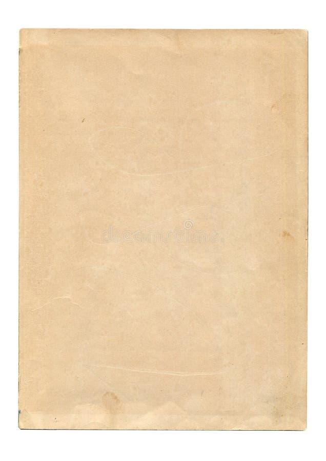 stary ilustracyjny papieru prześcieradła wektora fotografia royalty free
