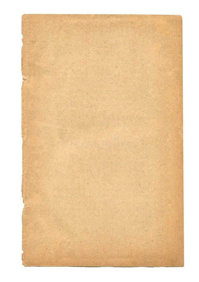 stary ilustracyjny papieru prześcieradła wektora zdjęcia royalty free