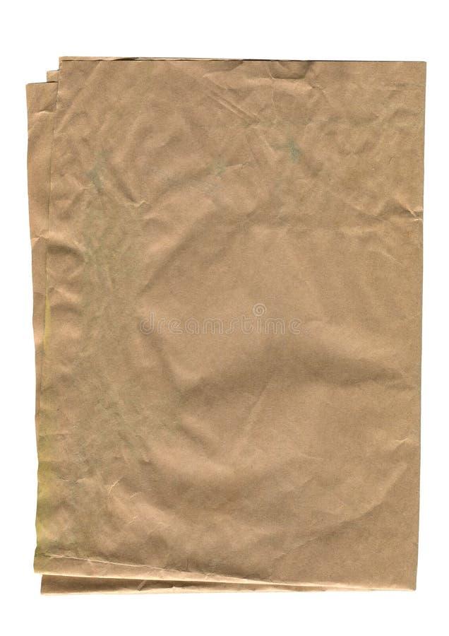 stary ilustracyjny papieru prześcieradła wektora obrazy stock