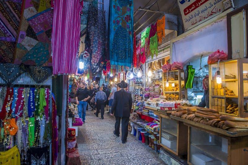 Stary Jerozolima rynek zdjęcie stock