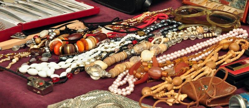 Stary jewelery fotografia royalty free
