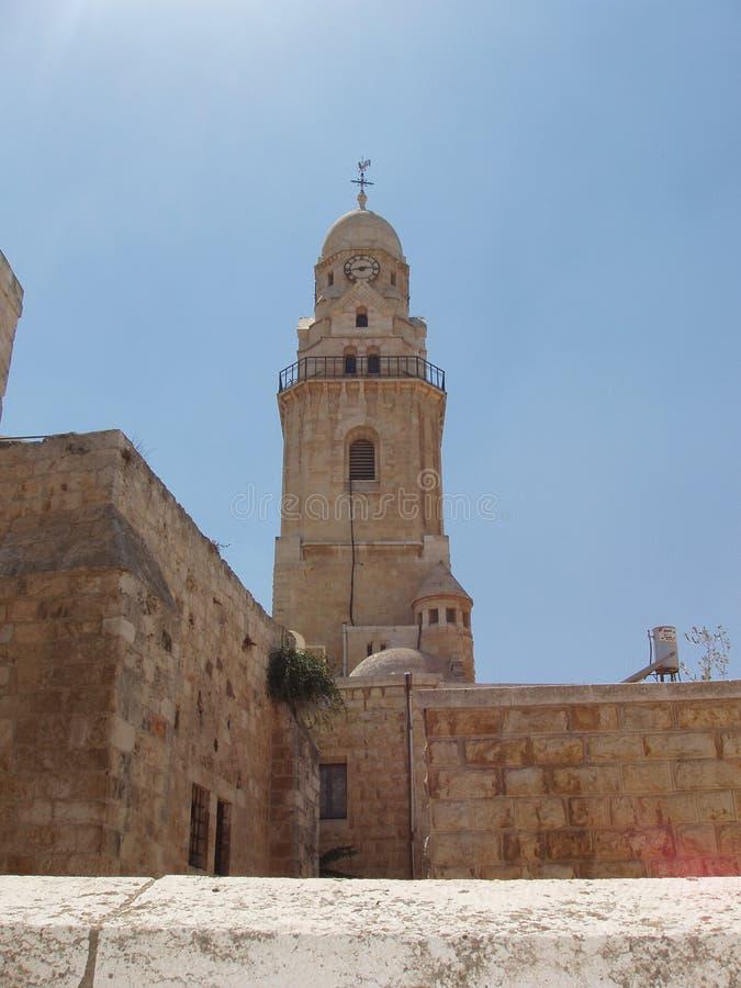 stary jurasalem kościoła obrazy royalty free