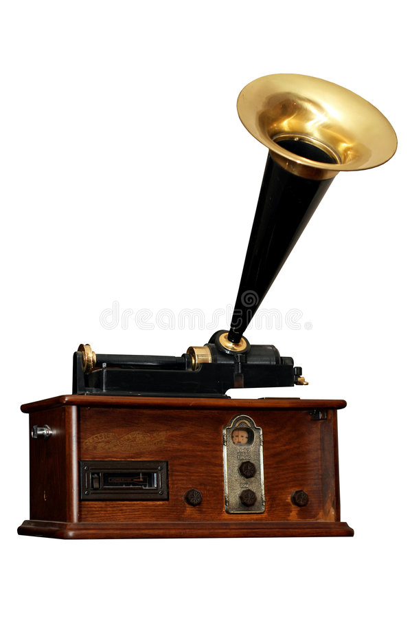 stary kąta radio obrazy stock