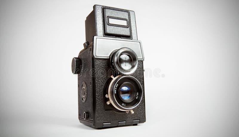 stary kamery tlr fotografia stock