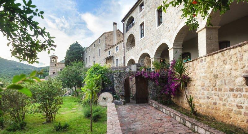 Stary kamienny budynek w Budva, Montenegro obrazy stock