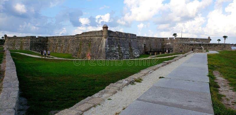 Stary Kamienny forteca w Kontynentalnym U S obrazy stock