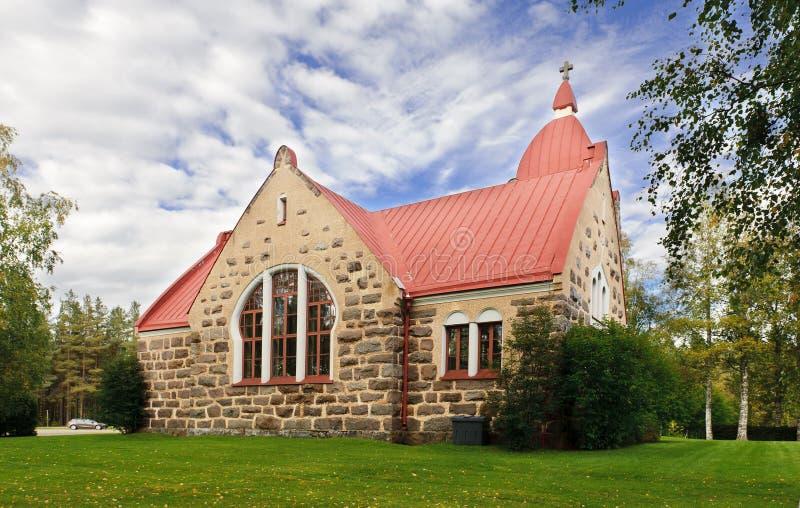 Stary Kamienny kościół obrazy royalty free