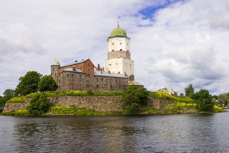 Stary kasztel w Vyborg, Rosja fotografia stock