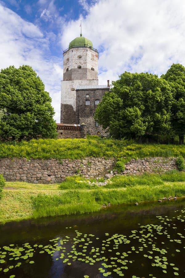 Stary kasztel w Vyborg, Rosja obrazy stock