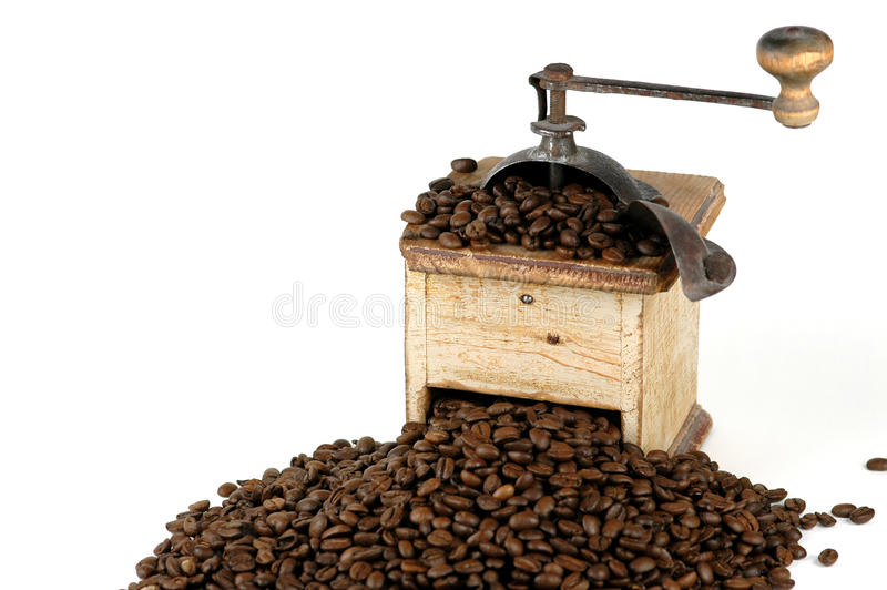 stary kawowy ostrzarz zdjęcie royalty free