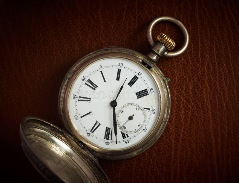 stary kieszeniowy zegarek obrazy stock