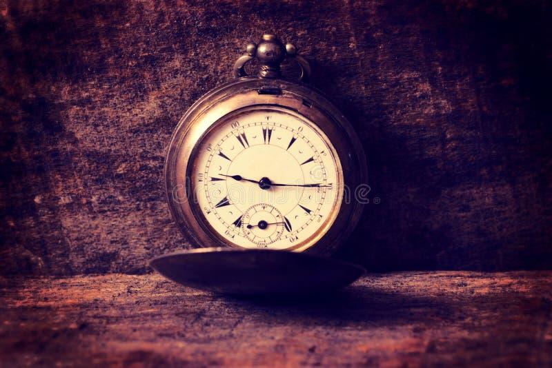 Stary kieszeniowy zegarek obraz royalty free