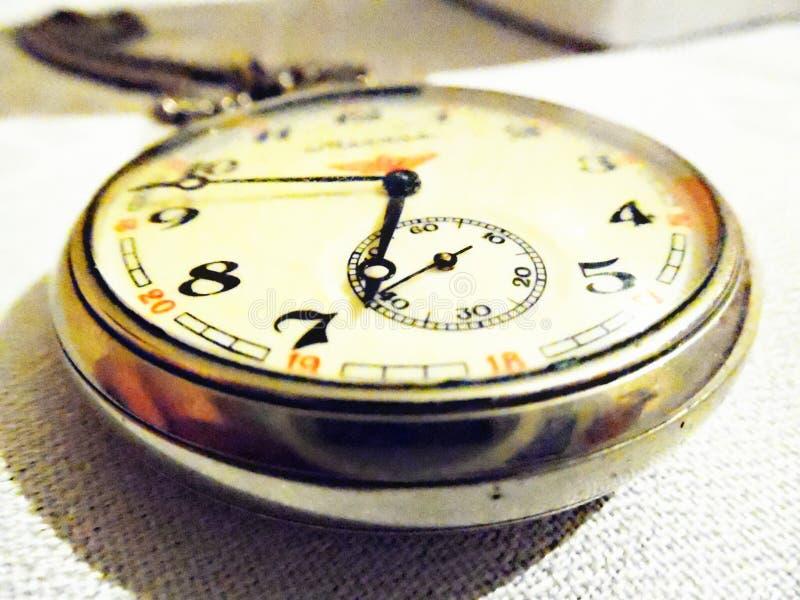 stary kieszonkowy zegarek obrazy stock