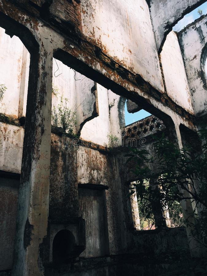 stary klasztor obraz royalty free