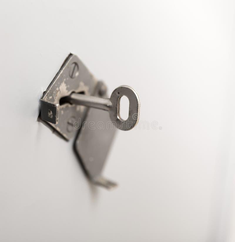 stary kluczowy keyhole zdjęcia stock