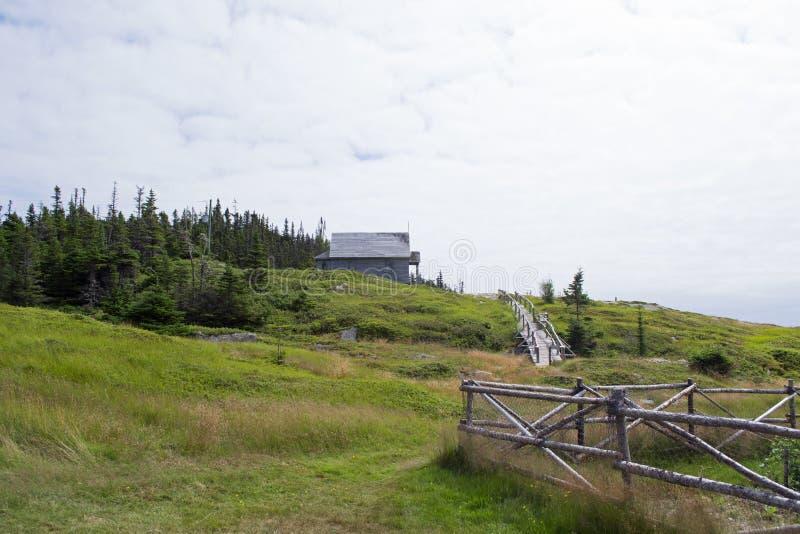 stary kościół hill obraz stock