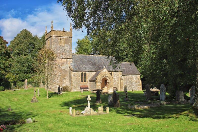 Stary kościół, Holcombe fotografia royalty free
