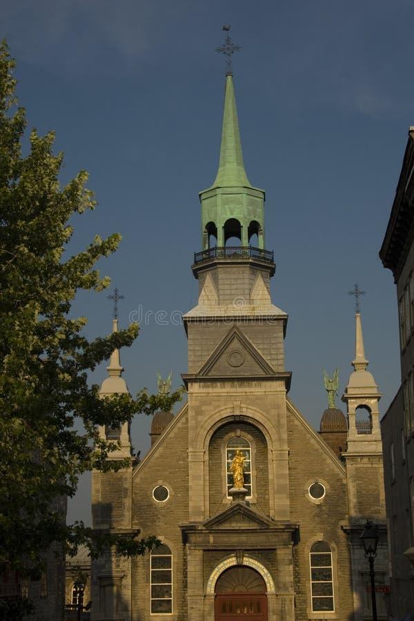 stary kościół Montrealu obrazy royalty free