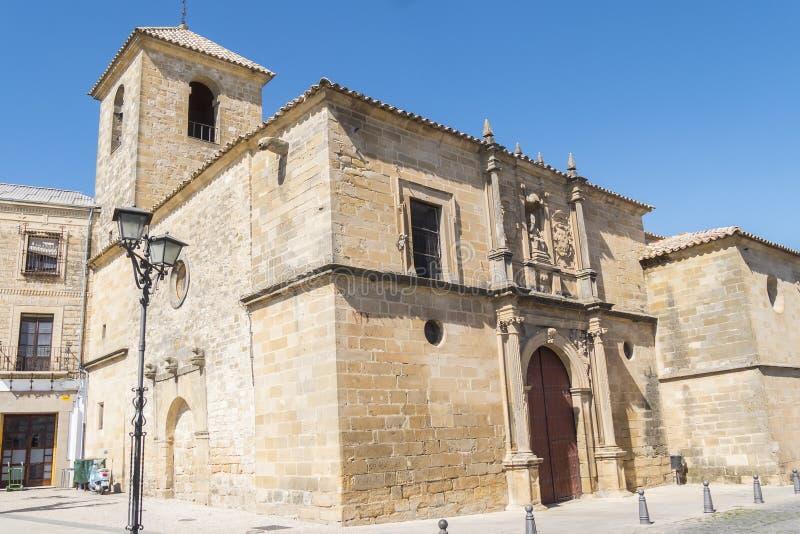 Stary kościół St Peter, Ubeda, Hiszpania zdjęcia royalty free