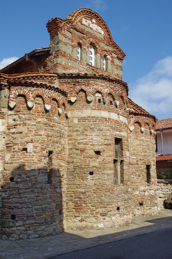 Stary kościół w Nessebar zdjęcie stock
