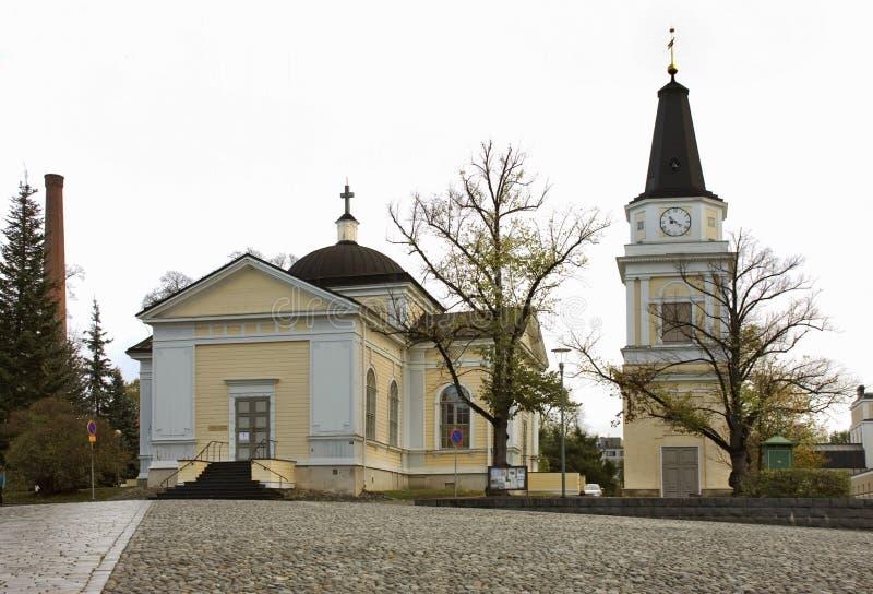 Stary kościół w Tampere Finlandia obrazy stock