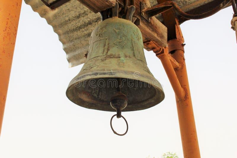 Stary kościelny dzwon obraz stock