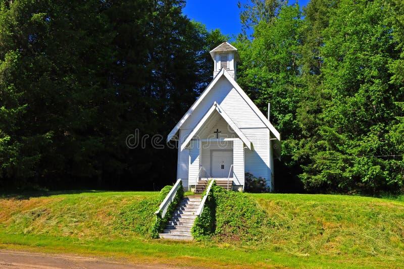 stary kościelny kraj obrazy royalty free