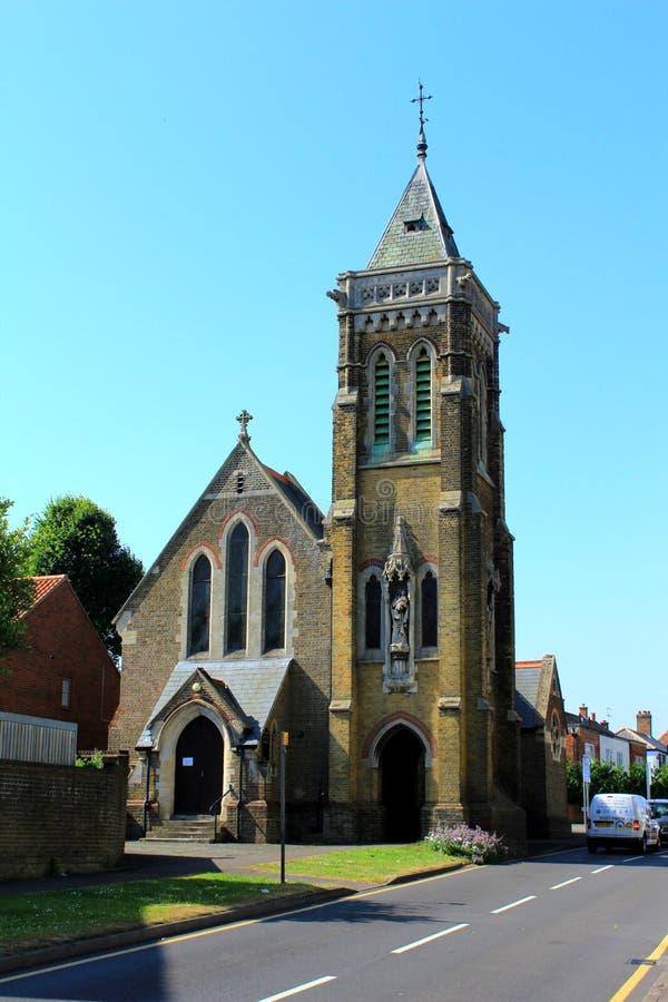 Stary kościelny Walmer Kent UK obrazy stock