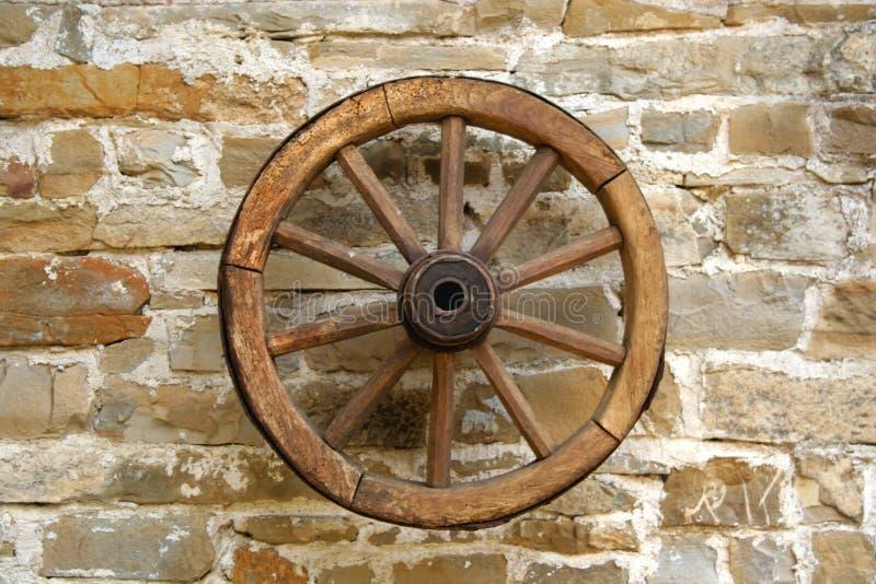 Download Stary koła zdjęcie stock. Obraz złożonej z okrąg, drewniany - 142074