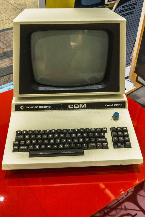stary komputer obraz royalty free