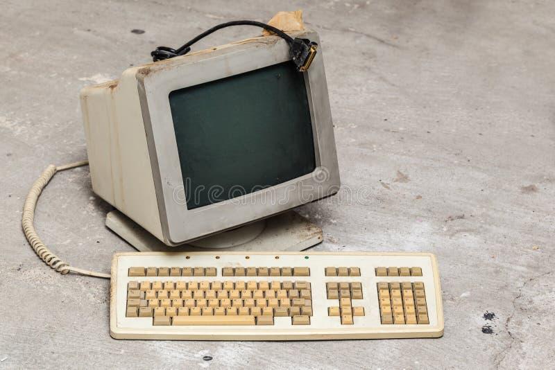 stary komputer osobisty zdjęcia stock