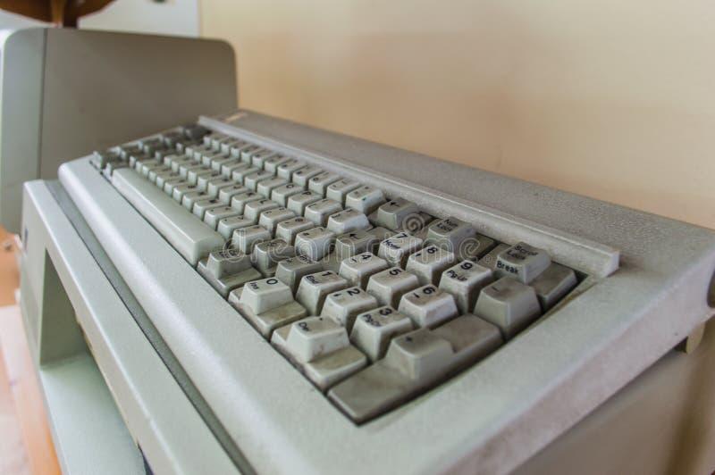 Stary komputer stacjonarny obraz stock