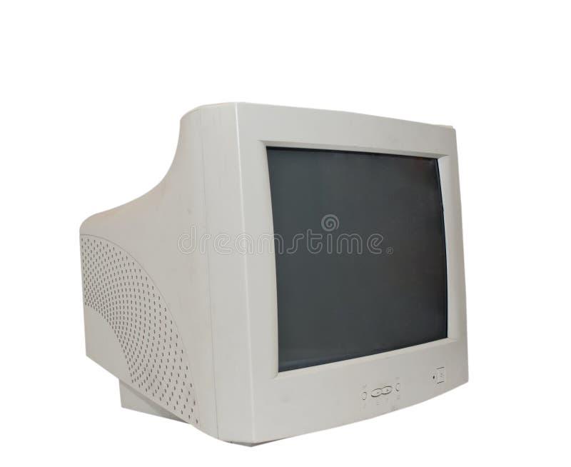 stary komputerowy monitor obraz stock