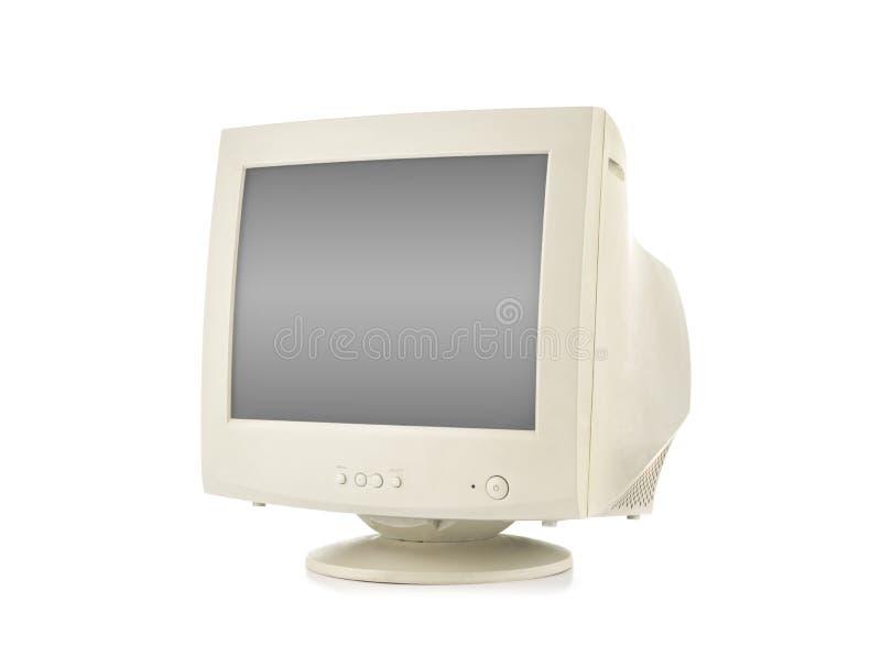 Stary Komputerowy monitor zdjęcia stock