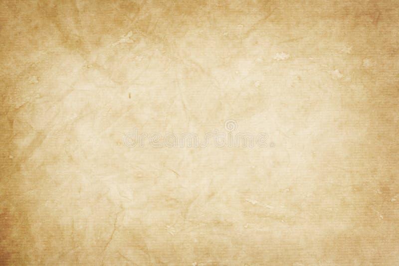 Stary Kraft papier obraz royalty free