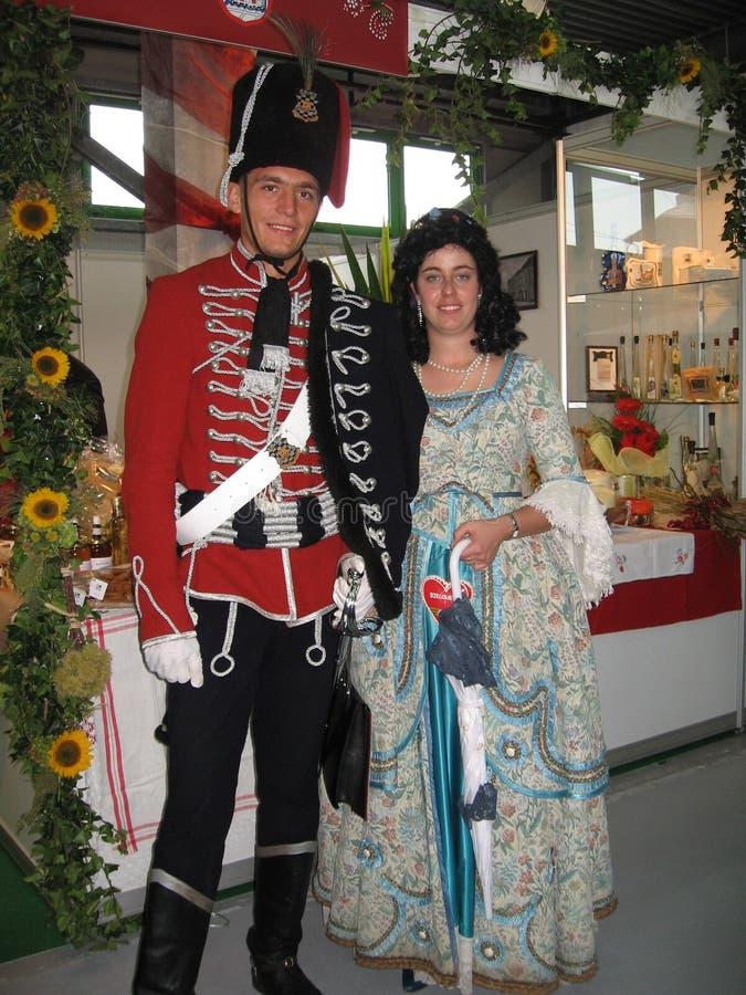 Stary krajowy kostium zdjęcie royalty free