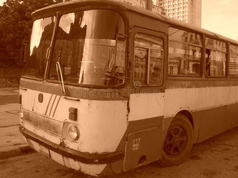 Stary Kubański autobus obrazy royalty free