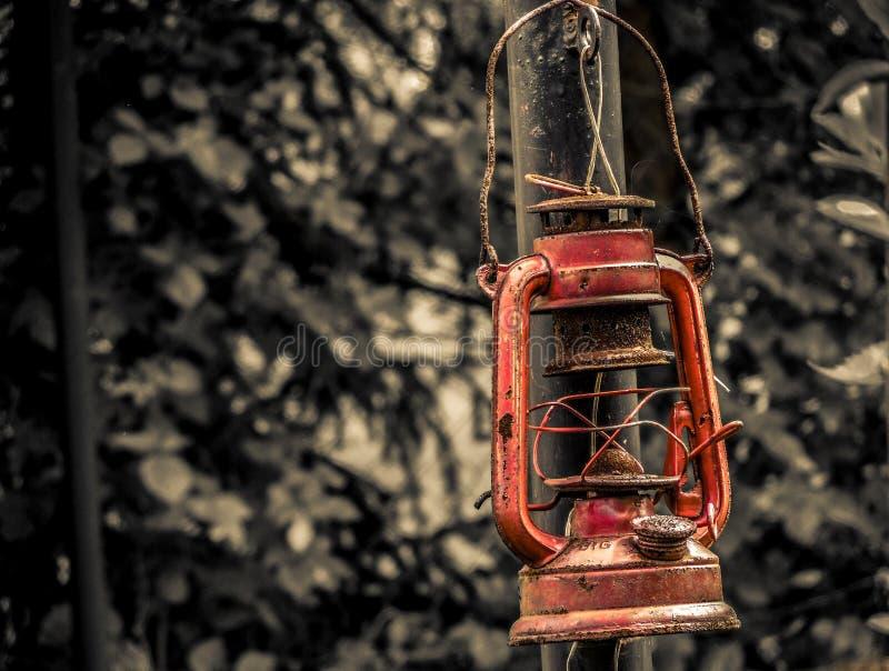 Stary lampion fotografia stock